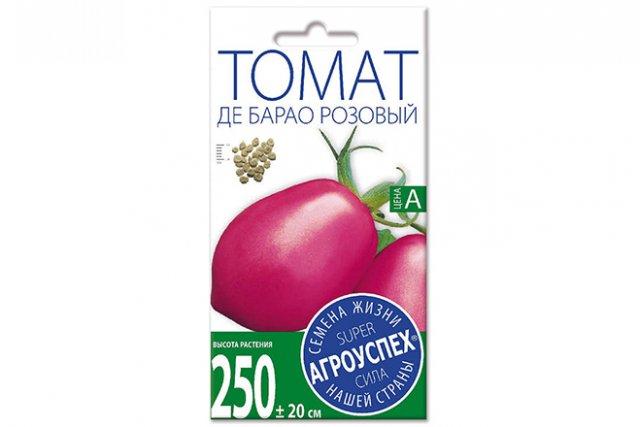 томат сорт де барао розовый