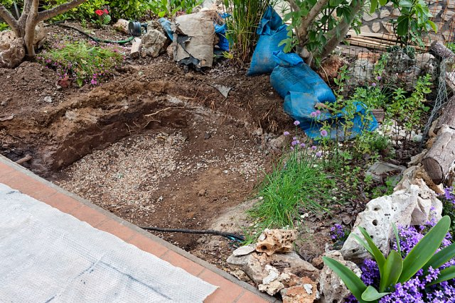 копать пруд