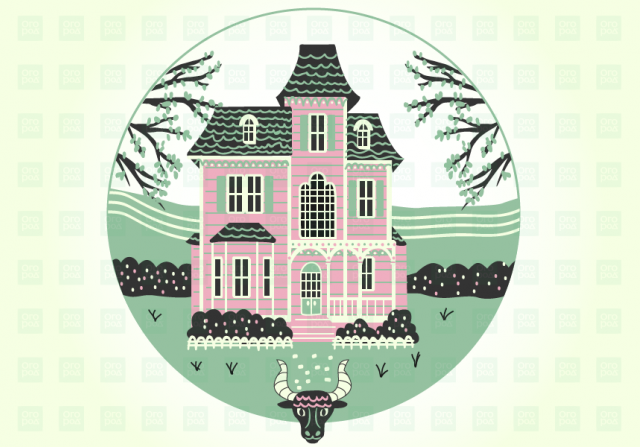 дом в викторианском стиле