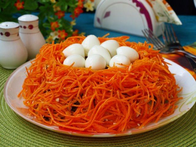 Салат обжорка рецепт с фото
