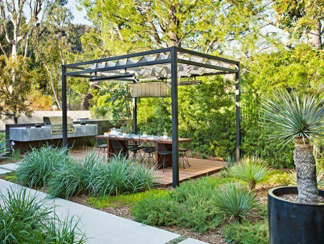 столовая в саду