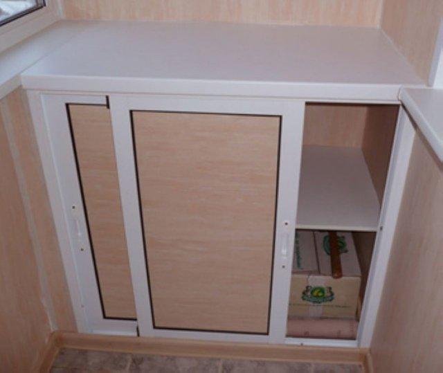 Встроенный шкафчик для закаток