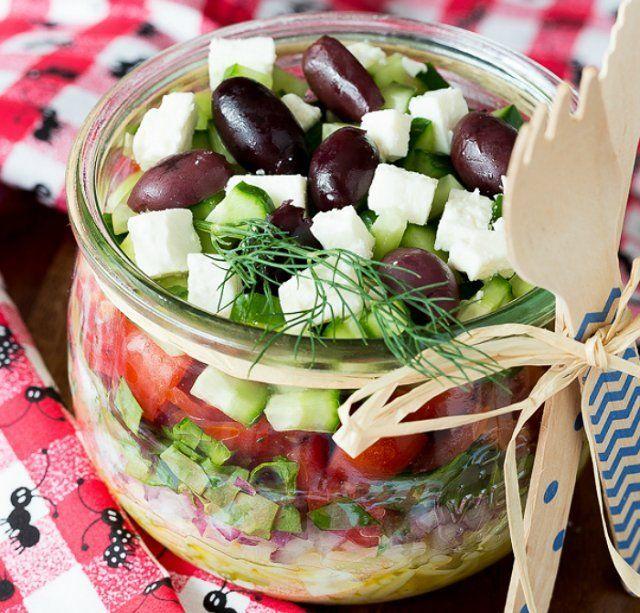 Легкие салаты для пикника рецепты с фото