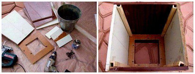 инструменты для урны из бетона фото