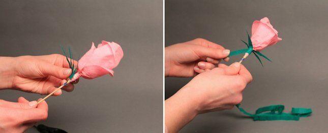 тюльпаны из бумаги