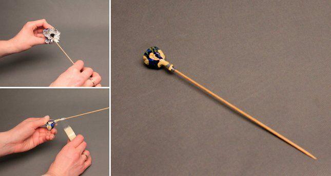 конфета на палочки для букета из цветов