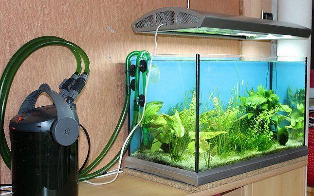 наружный фильтр для аквариума лампа подсветки фото