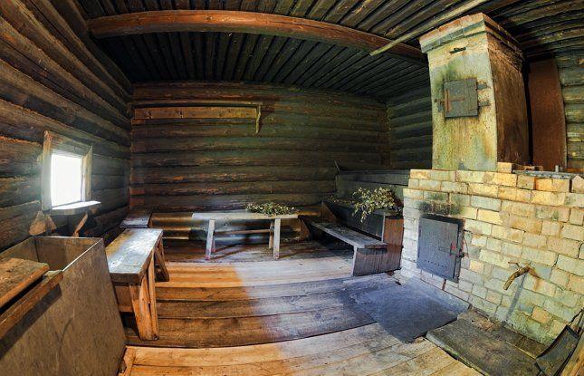 кирпичная печь в русской бане фото