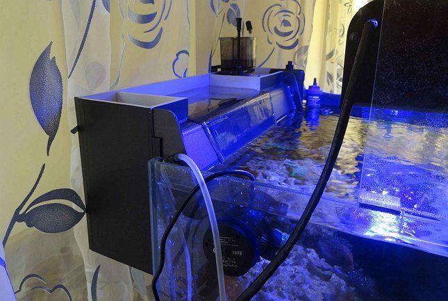 Навесной фильтр для аквариума фото