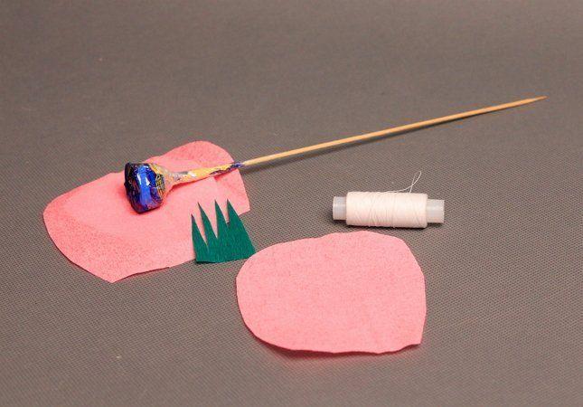 заготовки для тюльпанов из бумаги