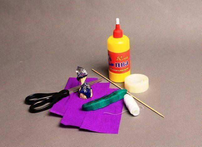 материалы для цветов из бумаги