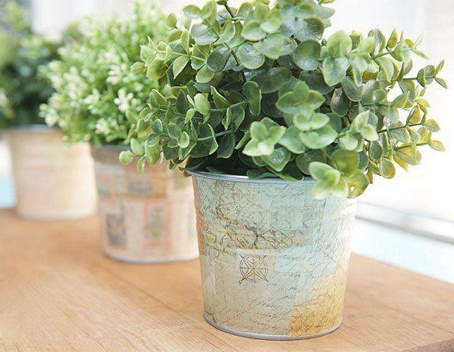 Посадите в сделанный вами горшочек любимое растение, и оно будет радовать вас еще больше, чем прежде