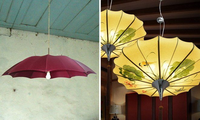 Зонтик-люстра