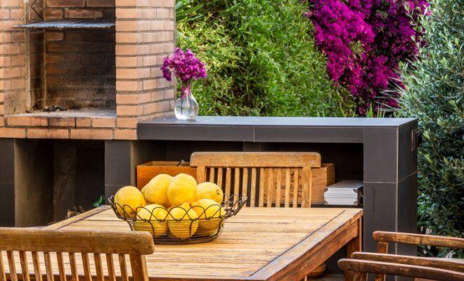 Как на даче построить летнюю кухню своими руками