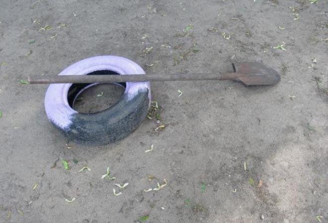 окраска шин