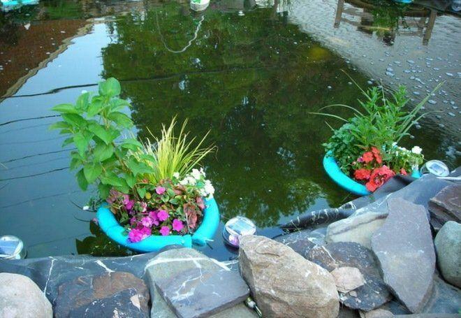 Плавающая клумба – яркий акцент вашего водоема, Усадьба
