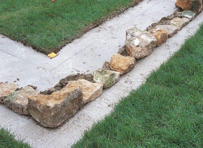 уложенные камни