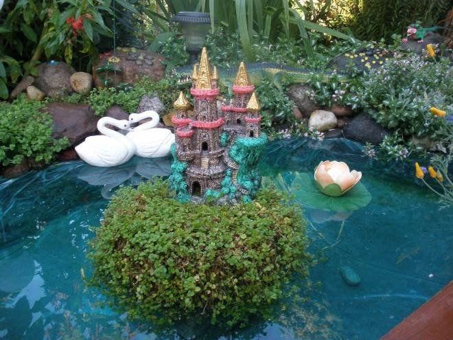 Декоративные острова могут быть населены сказочными обитателями