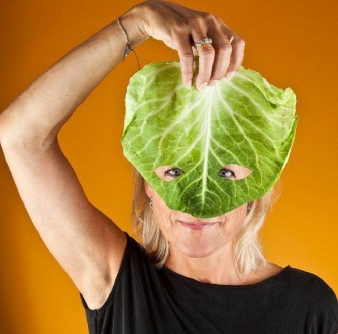 домашняя косметика из капусты