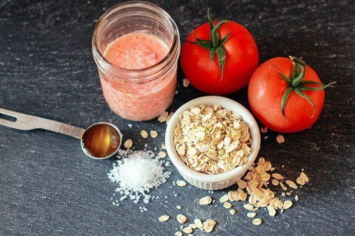 Домашняя косметика из помидоров