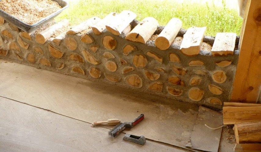 строительство из опилок