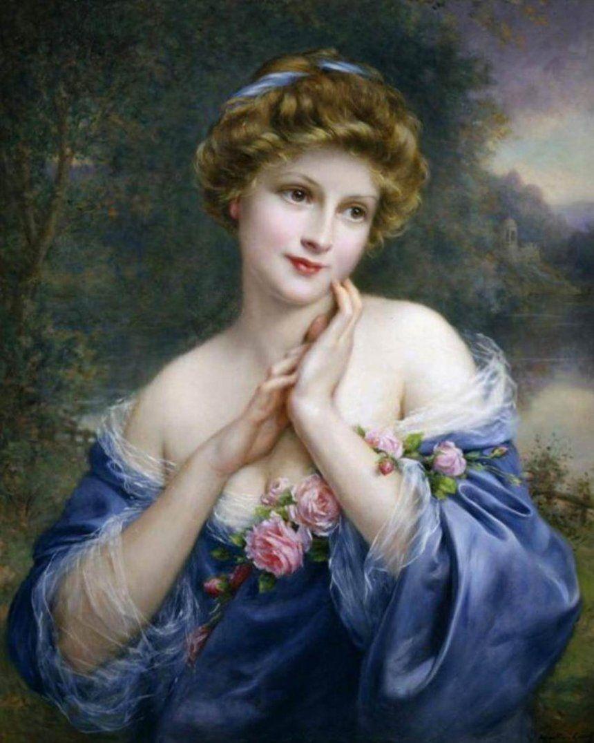 Летняя роза. Ф. Мартин-Кавель