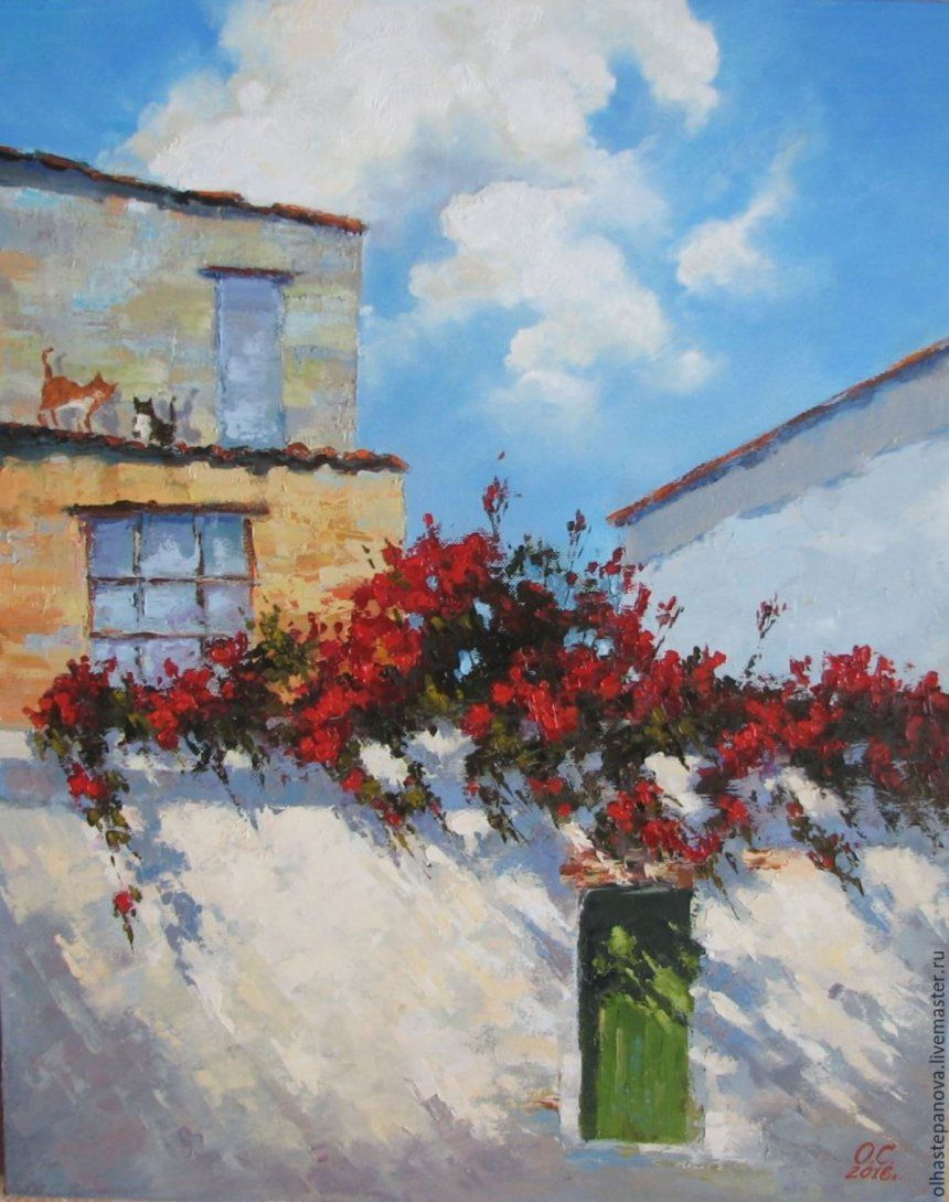 Красные розы. О. Степанова