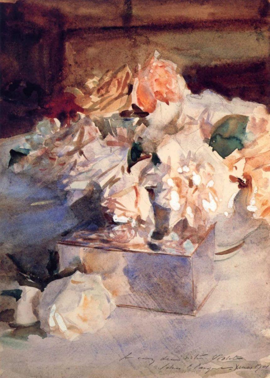 Розы. Дж. С. Сарджент