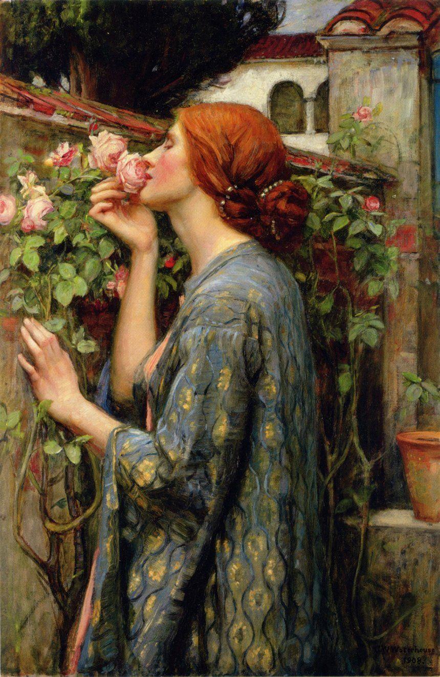 Душа розы. Дж. У. Уотерхаус